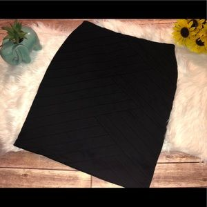 Style and Co. Black Stretch Skirt. Size M